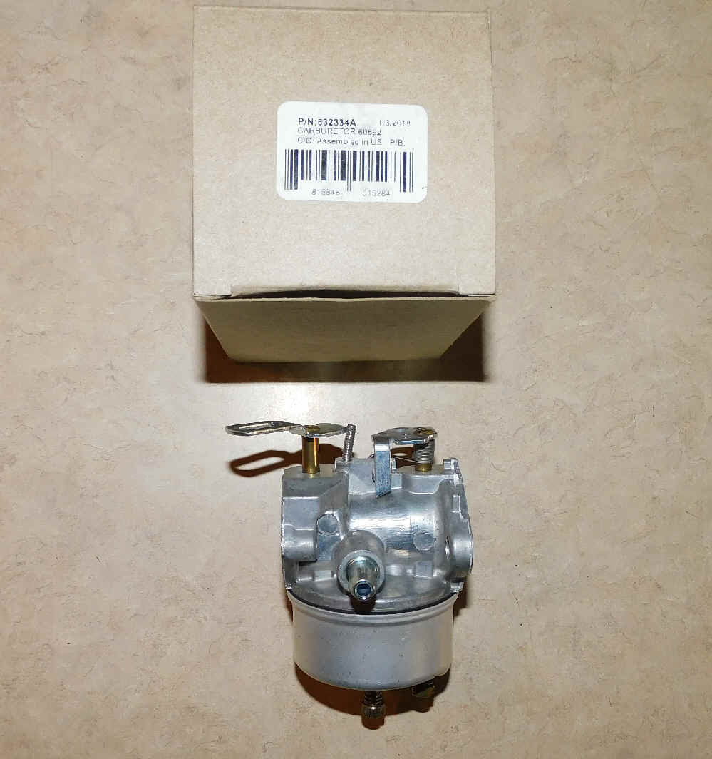 Tecumseh Carburetor Part No.  632334A