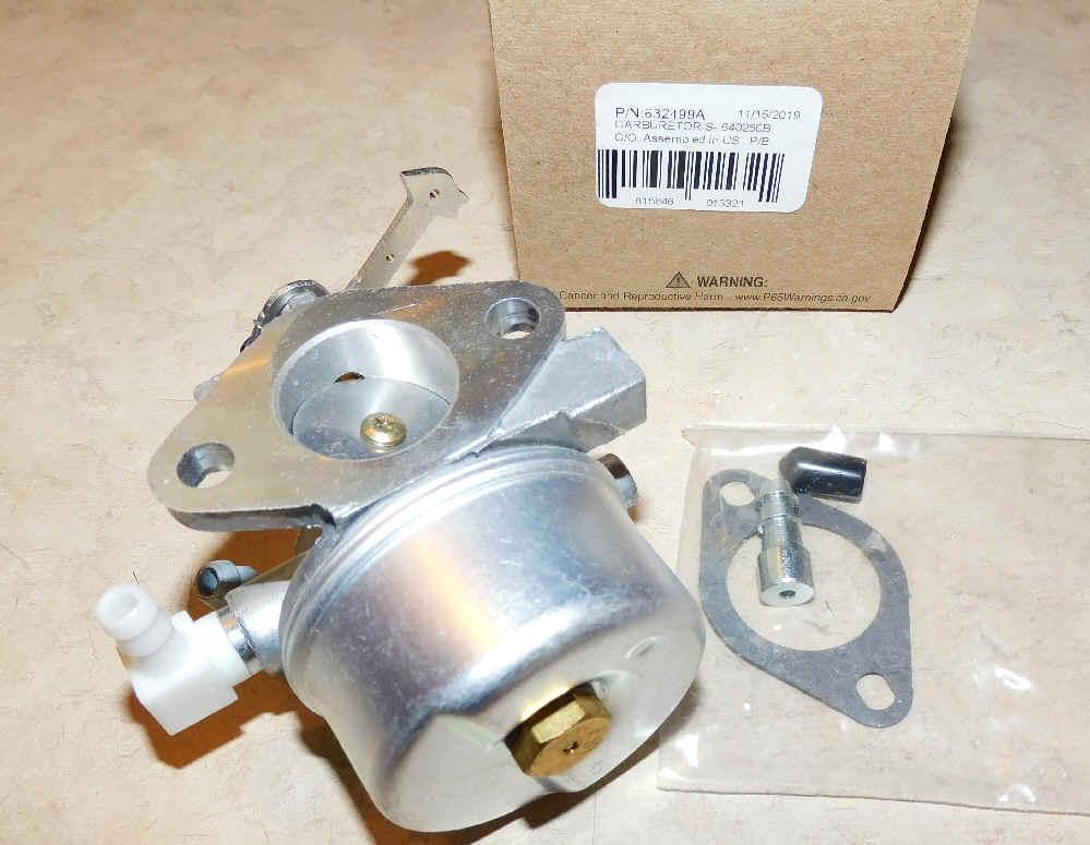 Tecumseh Carburetor Part No.  632499A