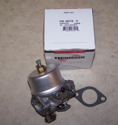 Tecumseh Carburetor Part No.  632776