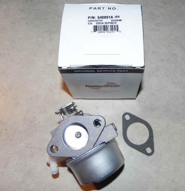 Tecumseh Carburetor Part No.  640091A