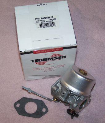 Tecumseh Carburetor Part No.  640092A