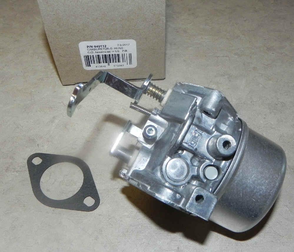 Tecumseh Carburetor Part No.  640112