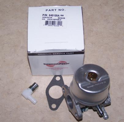 Tecumseh Carburetor Part No.  640135A