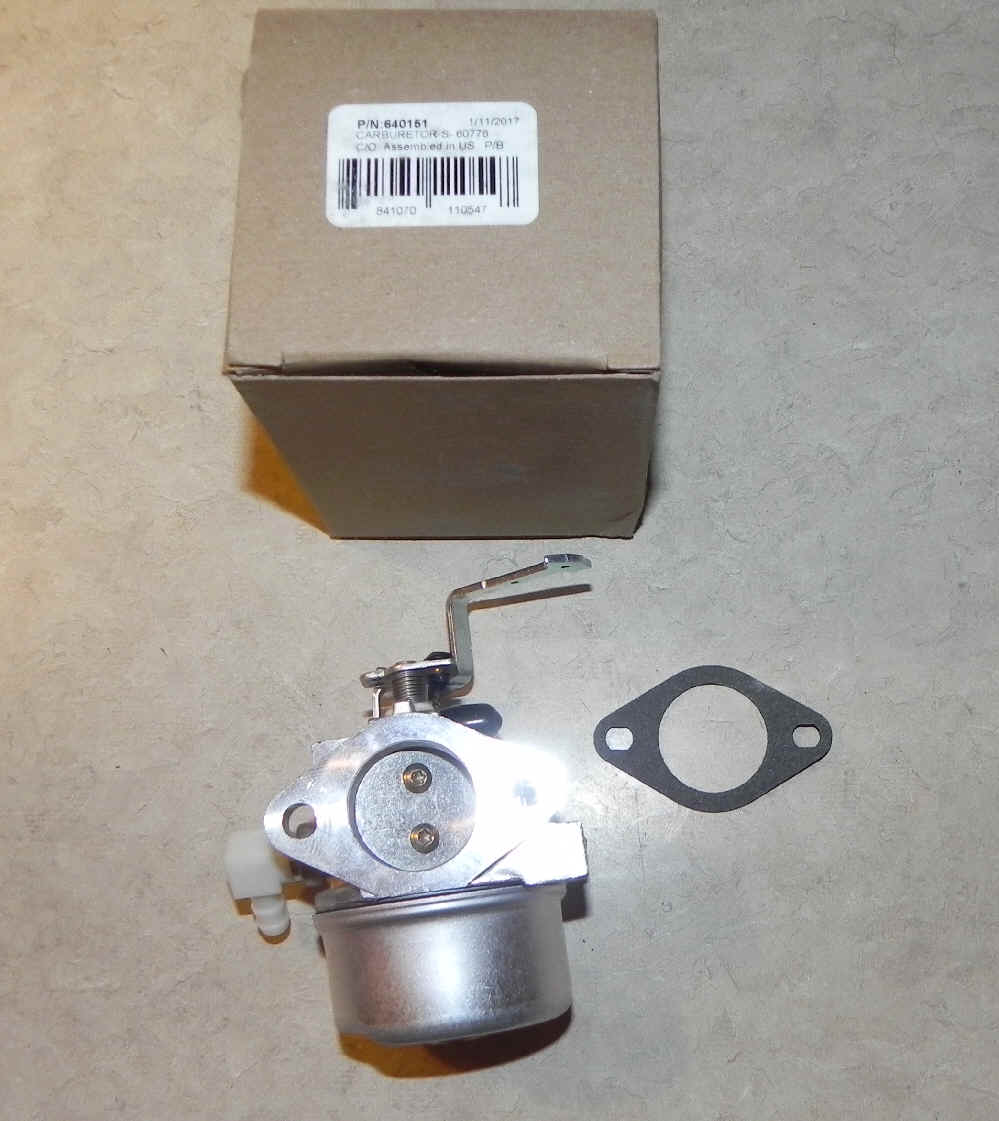 Tecumseh Carburetor Part No.  640151
