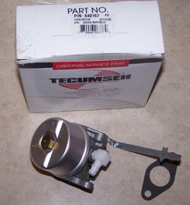 Tecumseh Carburetor Part No.  640133 AKA 640167