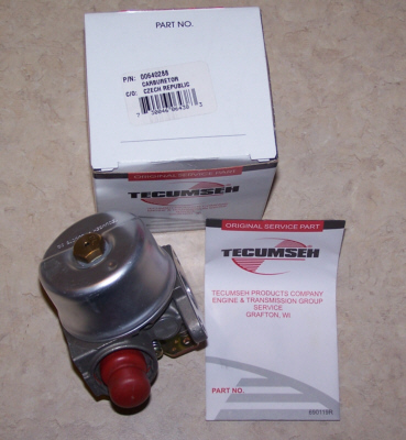 Tecumseh Carburetor Part No.  640266 AKA 640288