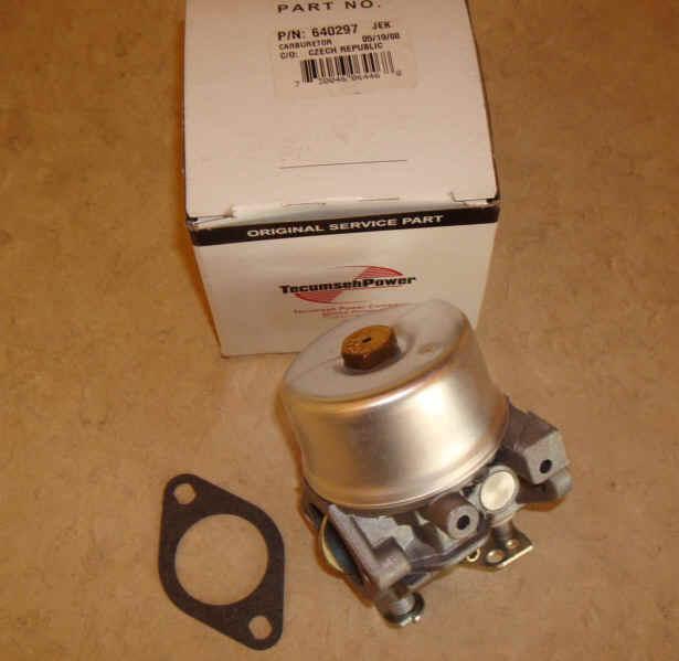 Tecumseh Carburetor Part No.  640297