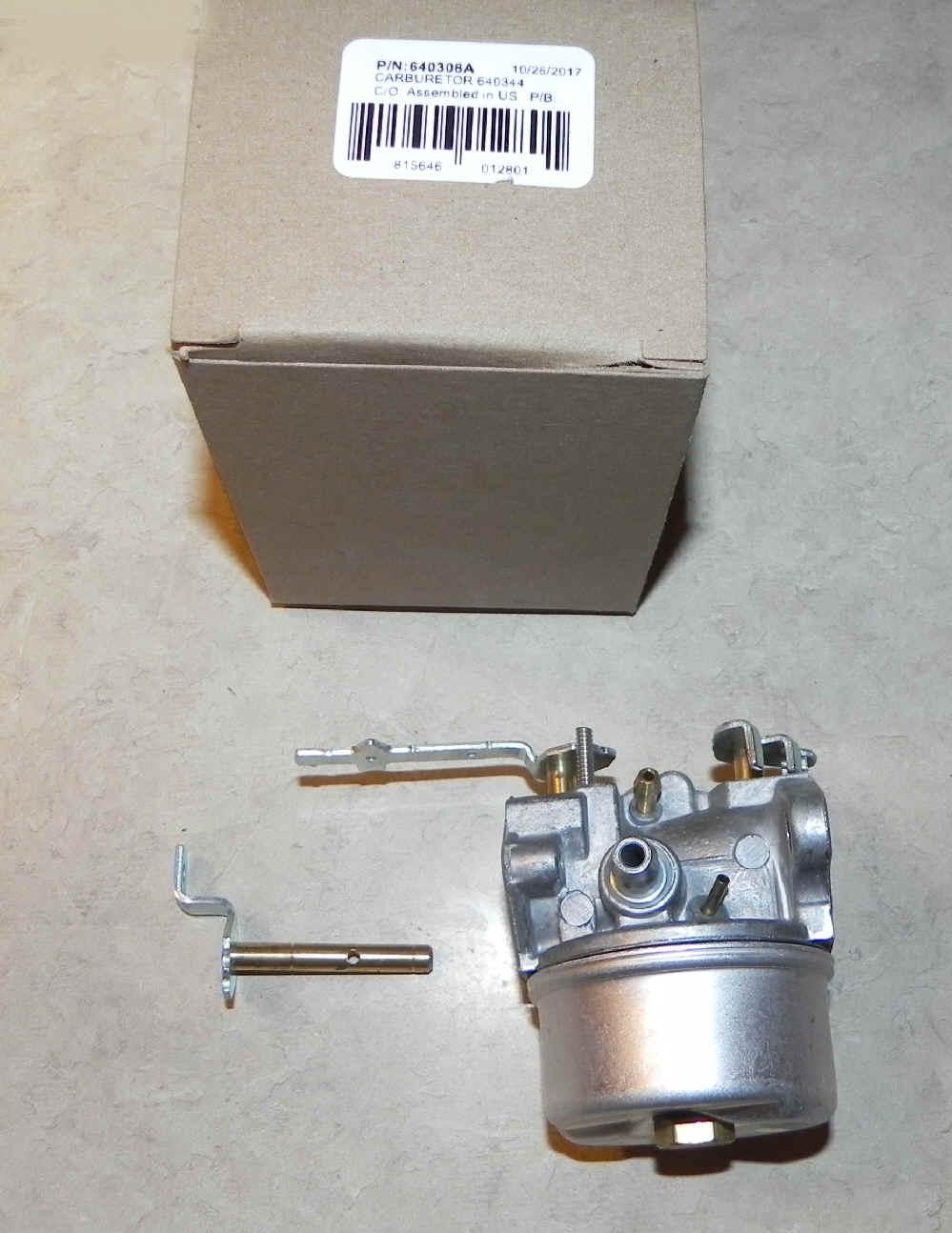 Tecumseh Carburetor Part No.  640308A