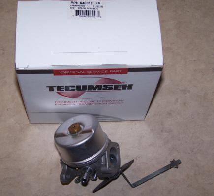 Tecumseh Carburetor Part No.  640310