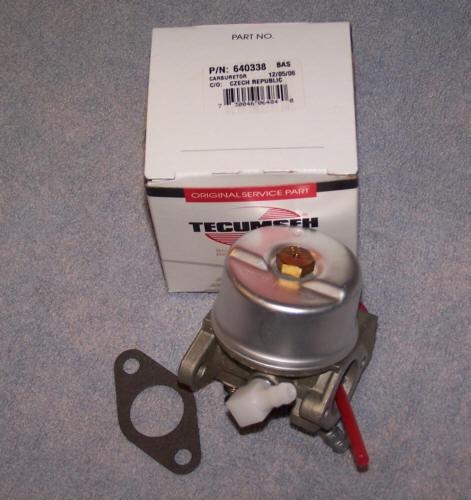 Tecumseh Carburetor Part No.  640274 NKA 640338