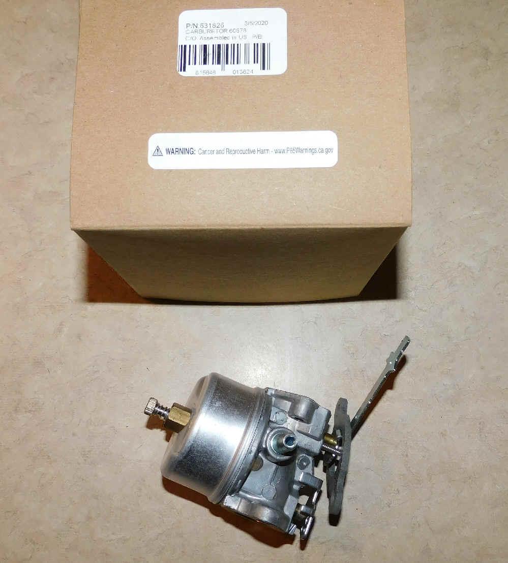 Tecumseh Carburetor Part No.  631826