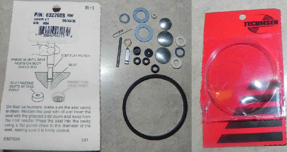 Tecumseh Carburetor Kit 632760B