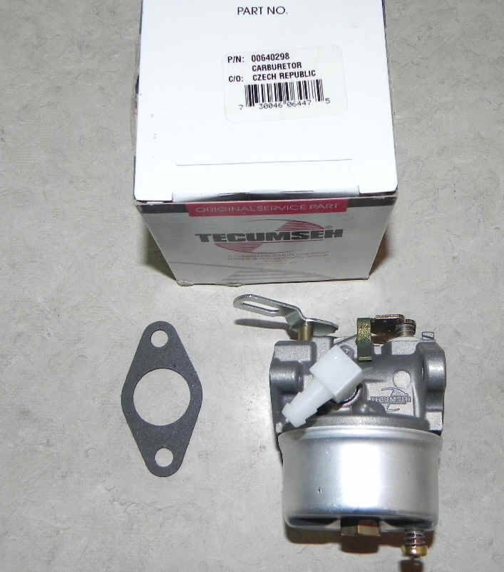 Tecumseh Carburetor Part No.  640298