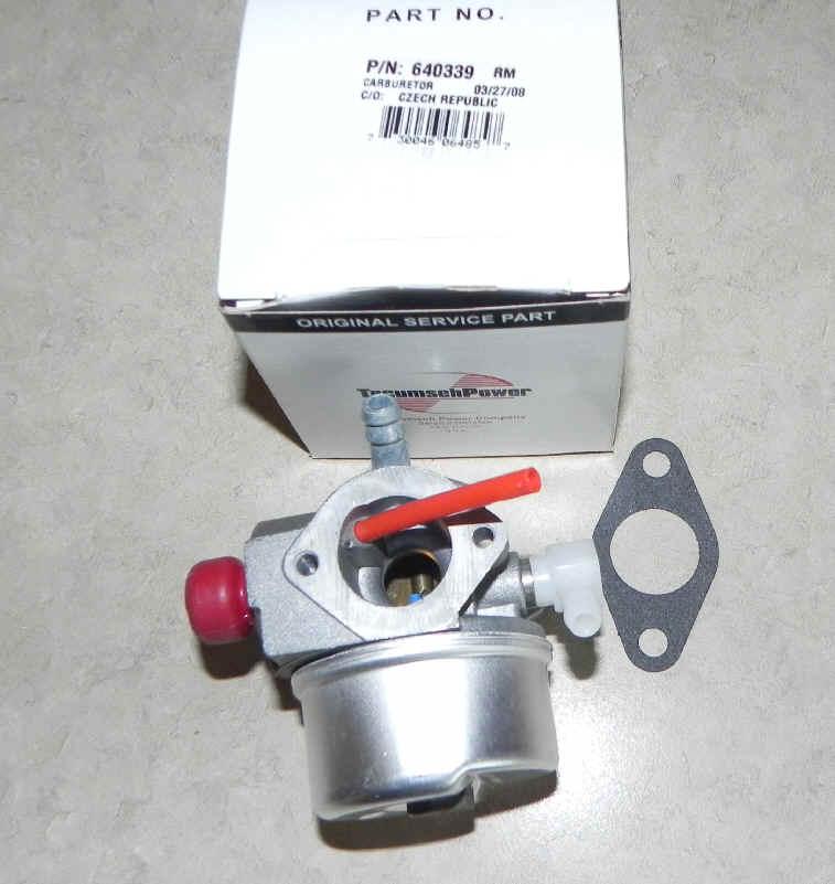 Tecumseh Carburetor Part No.  640339