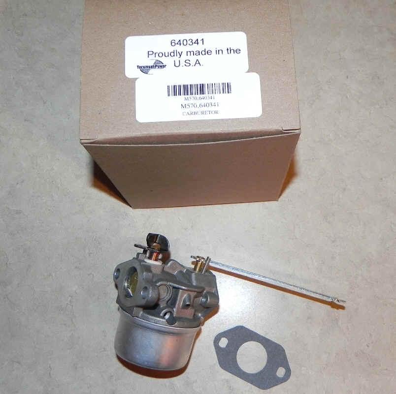 Tecumseh Carburetor Part No.  640341