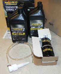 Hydro-Gear Oil Service Kit Part Number 72750
