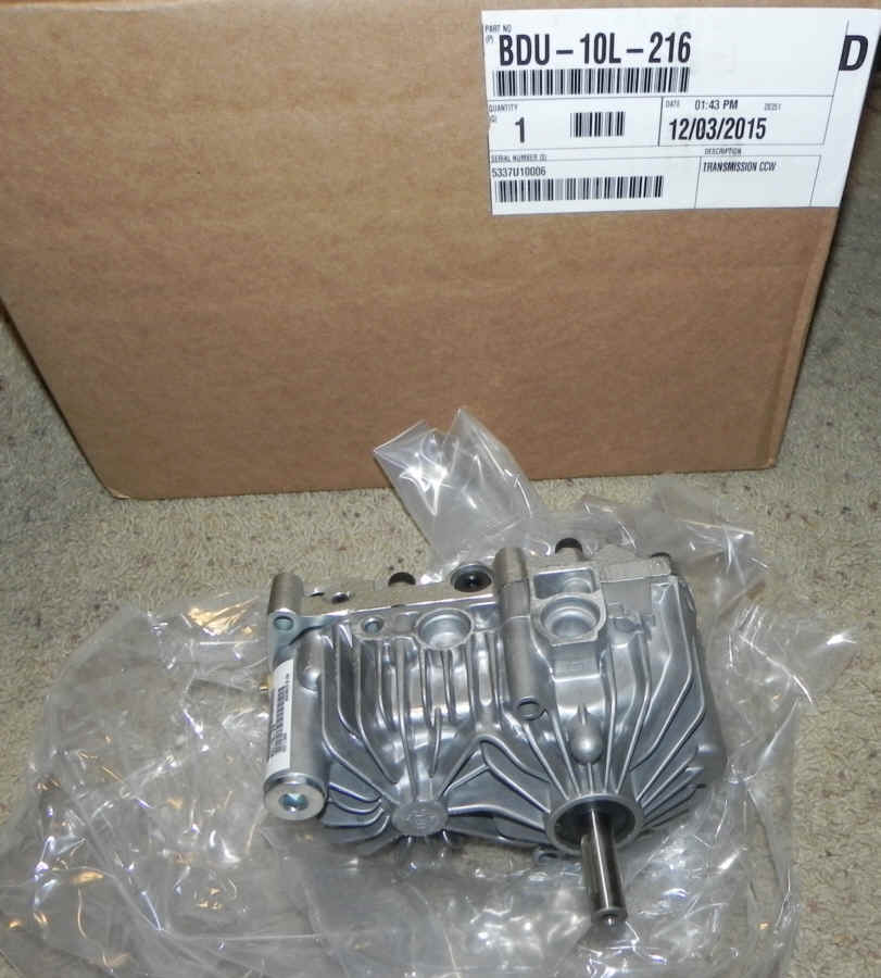 Hydro-Gear Part Number BDU-10L-216