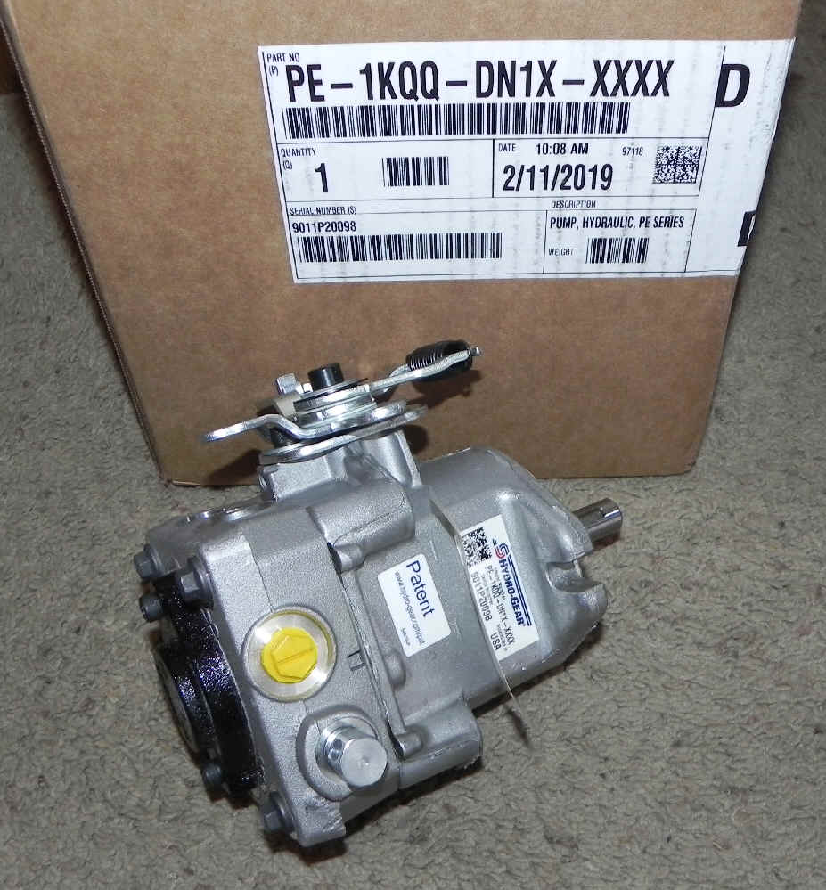 Hydro-Gear Part Number PE-1KQQ-DN1X-XXXX