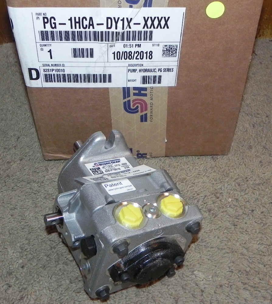 Hydro-Gear Part Number PG-1HCA-DY1X-XXXX
