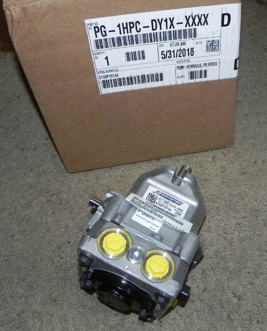 Hydro-Gear Part Number PG-1HPC-DY1X-XXXX