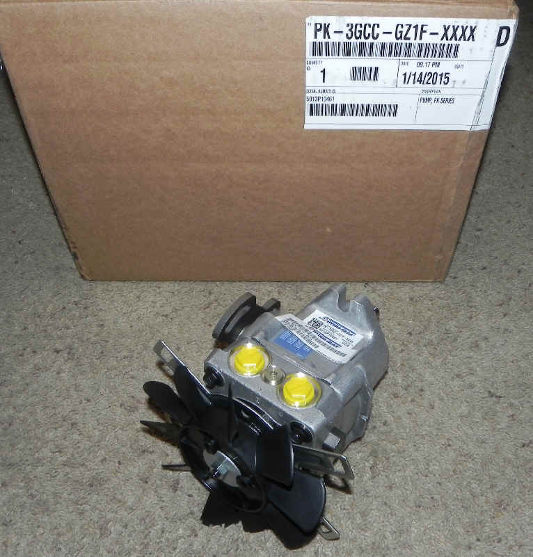 Hydro-Gear Part Number PK-3GCC-GZ1F-XXXX