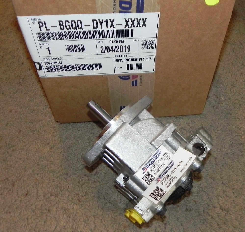 Hydro-Gear Part Number PL-BGQQ-DY1X-XXXX