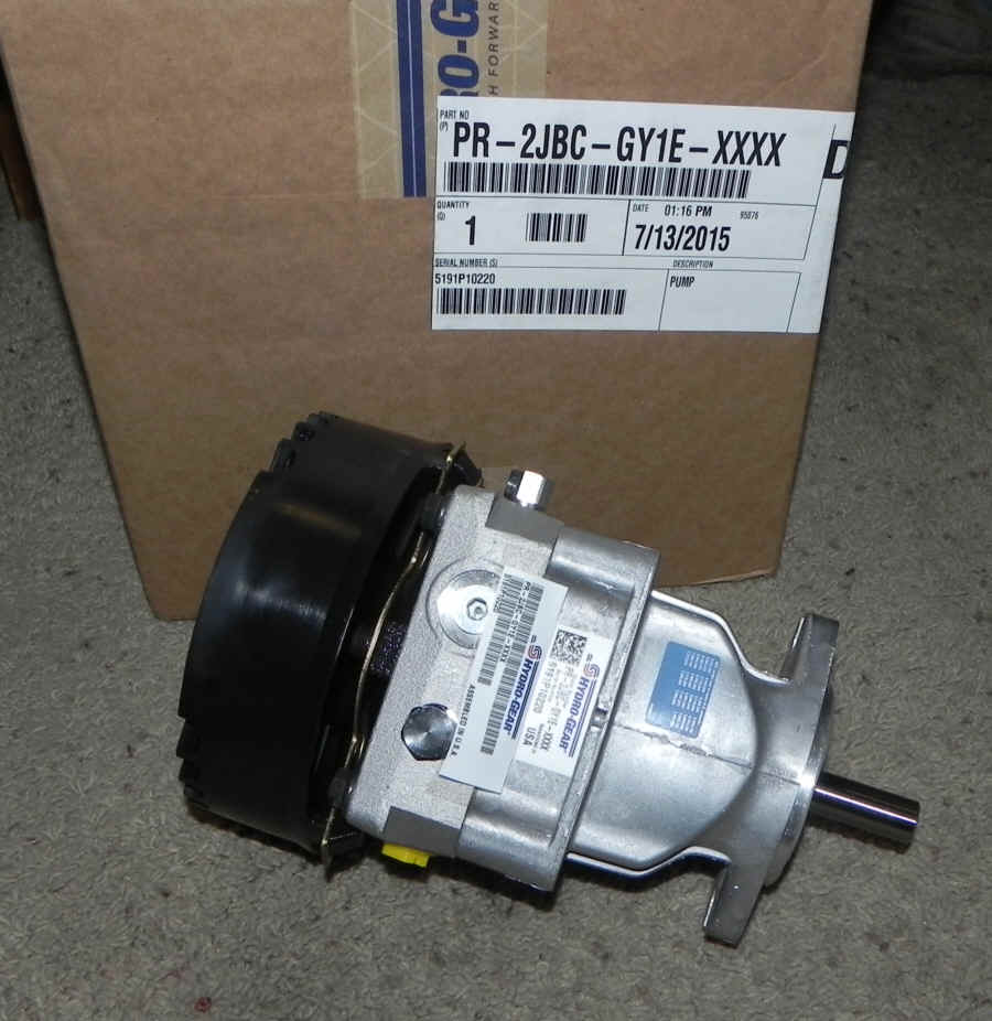 Hydro-Gear Part Number PR-2JBC-GY1E-XXXX