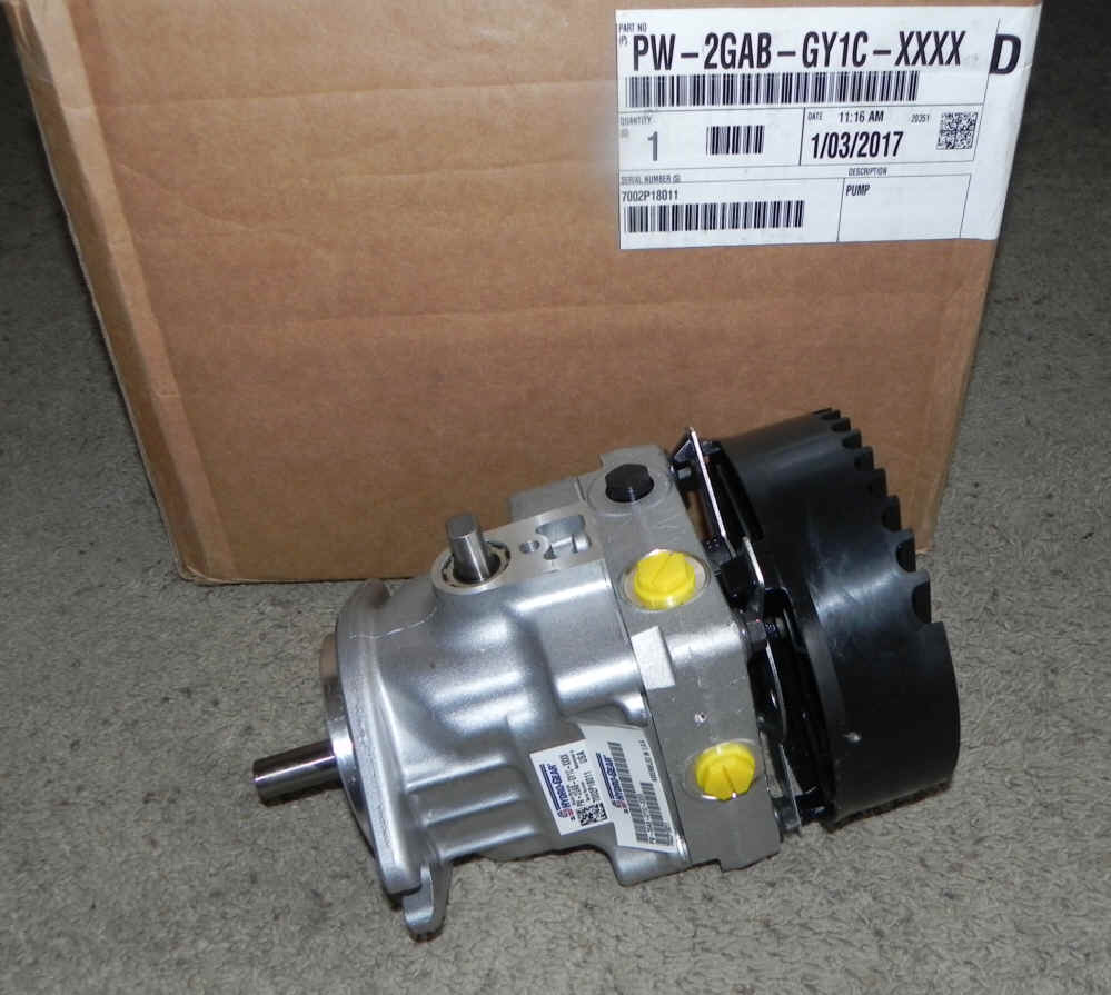 Hydro-Gear Part Number PW-2GAB-GY1C-XXXX