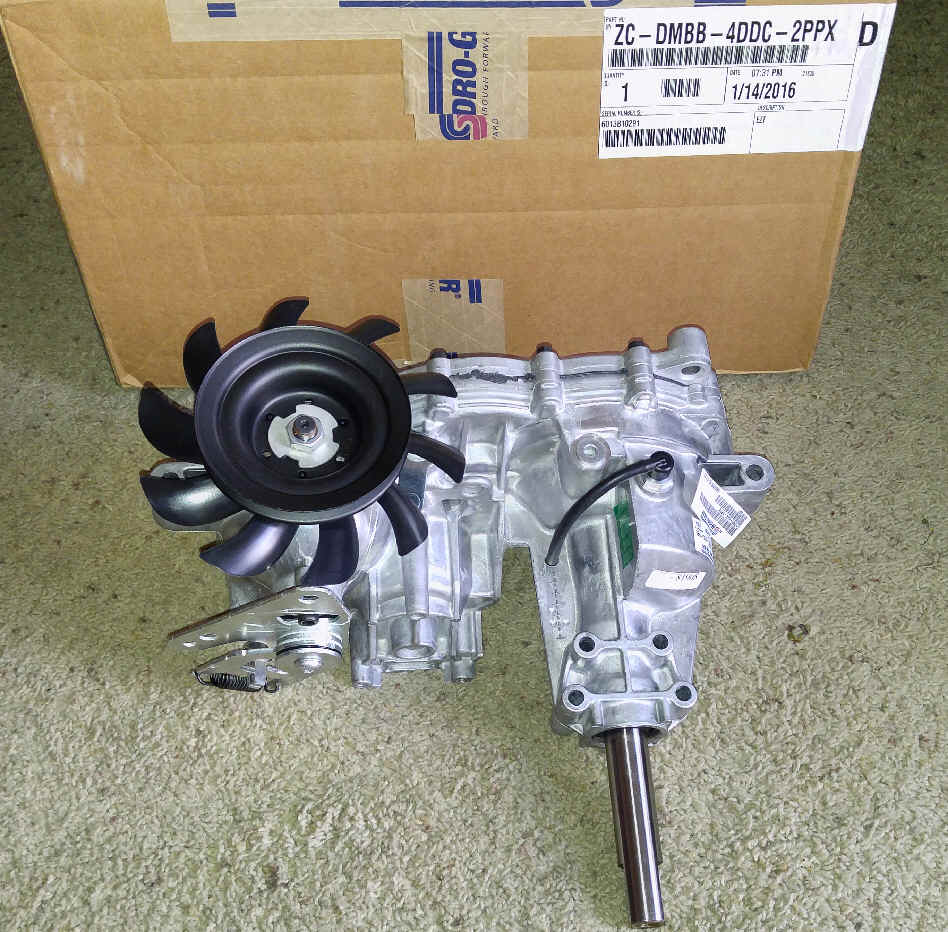 Hydro-Gear Part Number ZC-DMBB-4DDC-2PPX